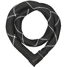 Abus Iven 8210/110 - Cadena antirrobo, color negro, talla 110 cm