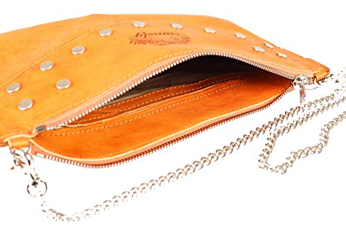 Camely borsa a tracolla envelope bag arancione
