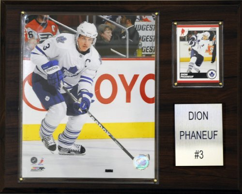 C & I Collectables NHL Dion Phaneuf Toronto Maple Leafs Player Plaque