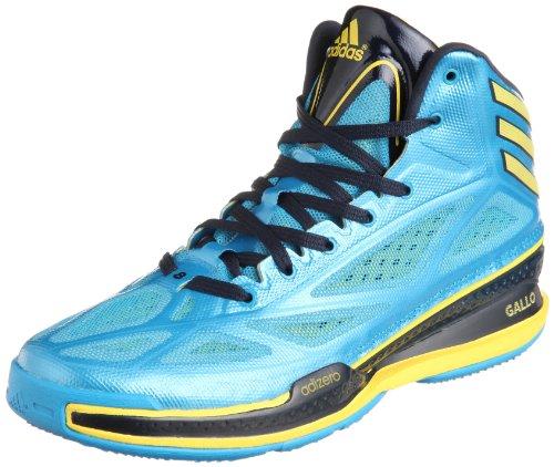 adidas - Chaussures Basketball - Adizero Crazy Light Bleu