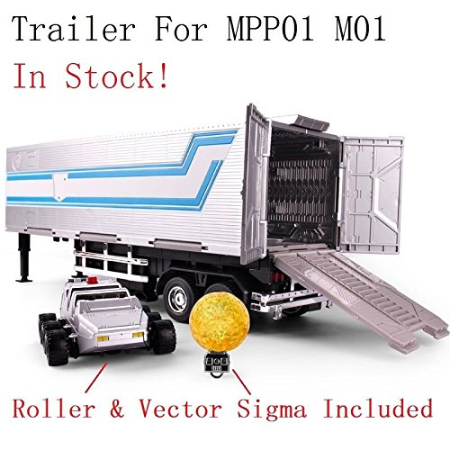 Wei Jiang Trailer Roller Sigma für mpp10 Optimus Prime Oversize -