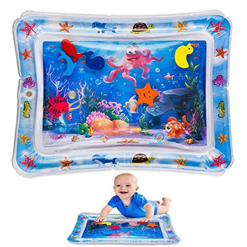are Wassermatte Octopus Seestern Seepferdchen Spiel Pad Wasser Gefüllt Spaß Kissen Spielzeug Matratze Bauch Zeit für Kinder Baby Kleinkind Kleinkinder mit schwimmenden Tieren ()
