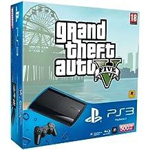 PlayStation 3 - Consola 500 GB + Gran Theft Auto V