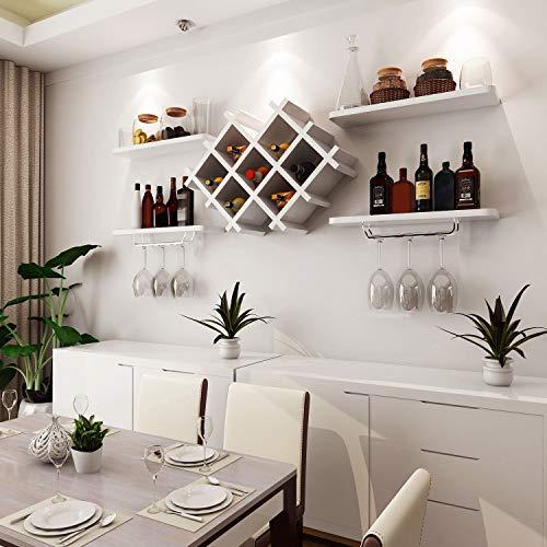 Einfache Moderne Wein Weinkühler hängen Weinregal Weinglas Rack umgedreht Wandregal kreative Wand...