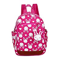 Uworth Bunny Kids Backpack Rucksack Girls Toddler with Reins