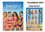 LOVE ISLAND GIRLS OFFIZIELLER KALENDER 2019 + SEXY GIRLS KÜHLSCHRANKMAGNET