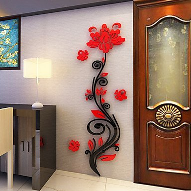 botanical-wall-stickers-3d-wall-stickers-decorative-wall-stickersvinyl-material-home-decoration-wall