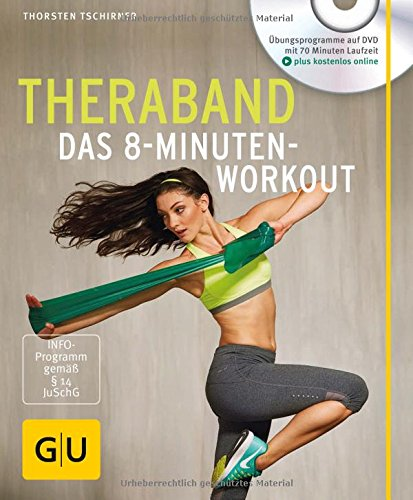Theraband (mit DVD): Das 8-Minuten-Workout (GU Multimedia) Buch-Cover