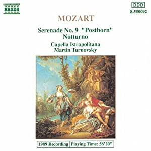Mozart:Serenade No.9 Posthorn