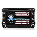 Autoradio Radio de Voiture stéréo 7 Pouces VW 2...