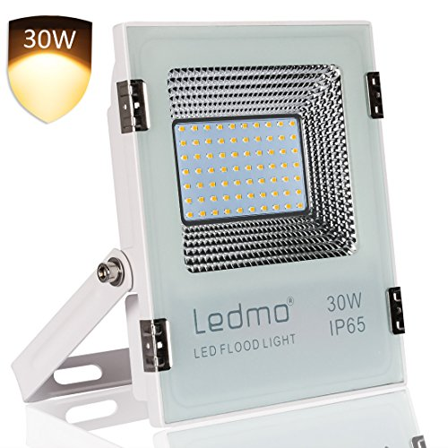 "LEDMO® Warmweiß 30W Led Fluter, 2017 Neu Stil Außenstrahler, CRI>80 IP65 LED Flood light Lampen Spotlicht Leuchtmittel Flutlicht"" border=""0″ width=""400″ class=""img-rounded img-responsive"" /></a> </div> <div class="
