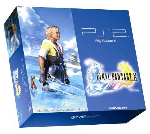 PlayStation 2 - PS2 Konsole inkl. Final Fantasy X - 2 Playstation Fantasy Final
