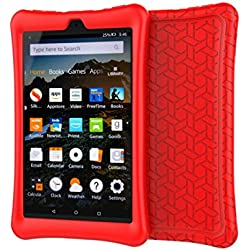 Funda de goma EVA para Kindle Fire HD 8 (2016 y 2017) (Varios colores)