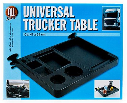 Preisvergleich Produktbild Mehrzwecktisch für LKW, montierbar ohne bohren und kleben, verstellbar, 47 x 34 cm