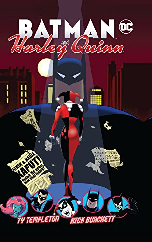 Batman and Harley Quinn por Ty Templeton
