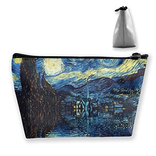 Starry Night Coin Purse Change Pouch Bleistift Fall Handytasche Make Up Taschen -