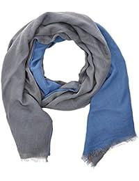 HÄRVIST, Fulár Unisex Adulto, Azul (Azul/Gris), One Size (Tamaño del fabricante:Única)