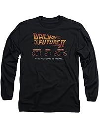 Back To The Future II - Back To The Future Ii - l'avenir de l'homme est ici à manches longues T-shirt