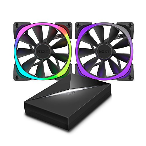 Fan-controller (Aer RGB120 & HUE+ – 2 x 120mm Advanced RGB LED PWM Fan with HUE+ Controller)