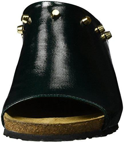 Papillio Signore Debby Tessile Muli Verde (verde Scuro Lucido)