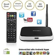 tinxi® CS918 Smart TV Box Mini PC Android 4.2 Cortex-A9 QUAD Core 1.6 GHz 8 GB 2GB RAM