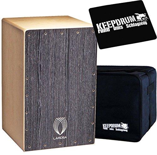 La Rosa Studio Black cajón + Funda + Keepdrum sitzpad