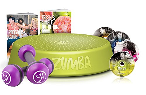 Zumba Fitness Incredible Results DVD-Set + Zumba Step Rizer + Zumba Fitness Toning Sticks 1 kg im Set