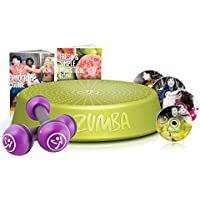 Preisvergleich für Zumba Fitness Incredible Results DVD-Set + Zumba Step Rizer + Zumba Fitness Toning Sticks 1 kg im Set