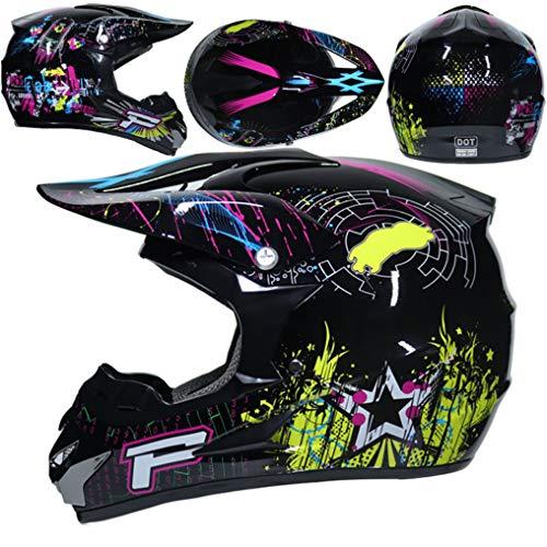 Männer Frauen Motocross-Helme Lackbeschichtete Sicherheit Offroad-Helme Abs Material Motorradrennsport Sicherheit Schutzkappen 23 Sonderfarben - Helm Mohawk Fahrrad