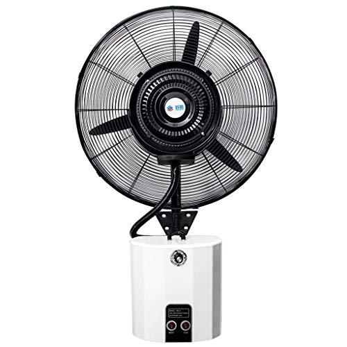 FANS Ventilador de Pared con pulverizador Agua,humidificador de enfriamiento de Ventilador de Niebla...