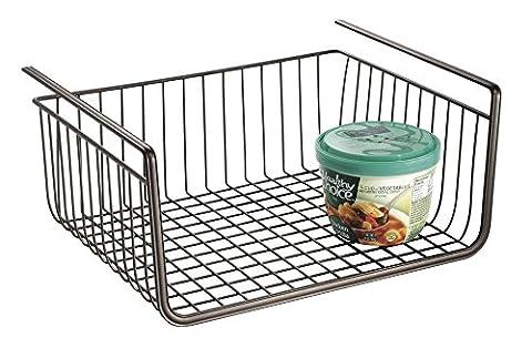 Paniers Legumes - mDesign panier suspendu en fil métallique –