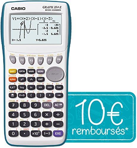 Casio Graph 35+ E Calculatrice graphique USB avec...