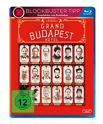 Kostüm Murray Bill - Grand Budapest Hotel [Blu-ray]