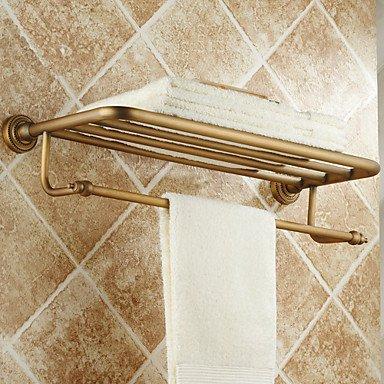 QMM bathroom accessories, Antique Brass Wall Mounted Towel Bars