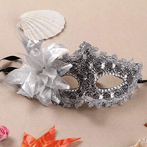AND Neue Seite Spitze Maske Prinzessin Maske Halbgesicht Maskerade Prom Show Augenmaske Halloween