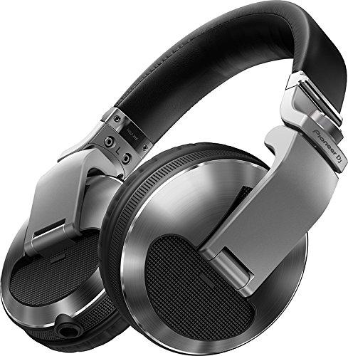 Pioneer HDJ-X10 Silver Circumaural Head-band headphone - headphones (Circumaural, Head-band, Wired, 5 - 40000 Hz, 1.2 m, Silver)