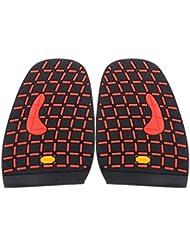 Footful Paire de Demi-Semelle Caoutchouc Avant-pied de Chaussure Réparation de Chaussures