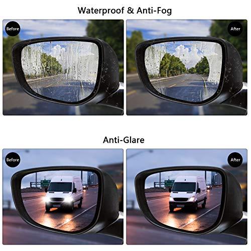 Auto & Motorrad: Teile 2 Stücke Auto Anti Wasser Nebel Film Anti Fog Rainproof Rückspiegel Schutzfolie Hoher Standard In QualitäT Und Hygiene Autopflege & Aufbereitung