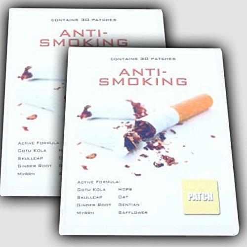 60 x ANTI SMOKING Patches / Pflaster | 100% natürliche Inhaltsstoffe ohne Nikotin! Raucherentwöhnung Rauch-Frei | Premium Qualität - Rauchen Patch