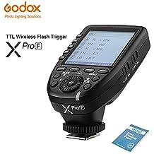 Godox XPro-F TTL 2.4G Wireless Flash Trigger Transmitter High Speed HSS 1/8000s Flash Trigger Transmitter X system High-speed Trigger For Fuji DSLR Cameras Godox AD600BM AD360II AD200 V860II-F TT685F