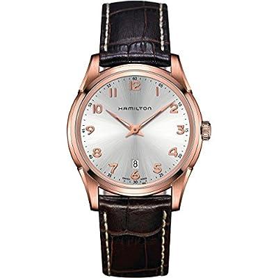 Hamilton Men's Analogue Quartz Watch with Leather Strap H38541513