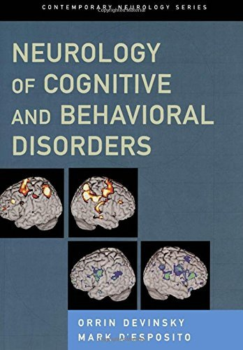 Neurology of Cognitive and Behavioral Disorders (Contemporary Neurology Series) by Orrin MD Devinsky (2003-10-01)