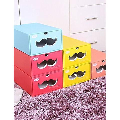 Papel ajustable Caja de almacenamiento para zapatos