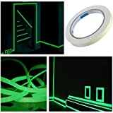 VWH Lumineux Fluorescent Bande Haute Intensité Autocollant Ruban Réfléchissant Auto-adhésif Roue de Camion Vélo Moto Ruban à Bande 10mm*3m