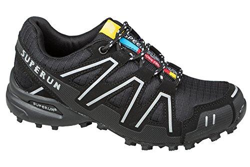 GIBRA® Chaussures de sport, très léger et confortable, Noir, Taille 36–41 Noir - Noir