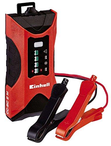 einhell batterie ladegeraet Einhell Batterie Ladegerät CC-BC 2 M (für Batterien von 3 bis 60 Ah, Ladespannung 6 V / 12 V, Winterlademodus, LED-Batteriespannungs- und Ladefortschrittsanzeige)
