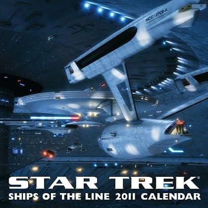 Star Trek: Ships of the Line Calendar 2011