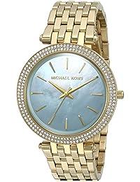 Michael Kors Reloj analogico para Mujer de Cuarzo con Correa en Acero  Inoxidable MK3498 8643402c0b54