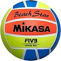 Mikasa pelota de playa Star, colores fosforitos, 5, 1633