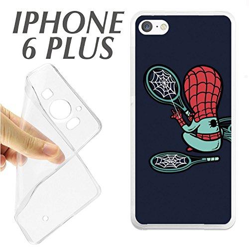 Schutzhülle + Displayschutzfolie Hartglas iPhone 66S Schutzhülle K195Heroe Tennis Schläger -